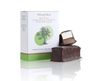 Sea Salt Caramel and Vanilla Mallow Chocolate Bars  ( 3 bars 2 bars per box)