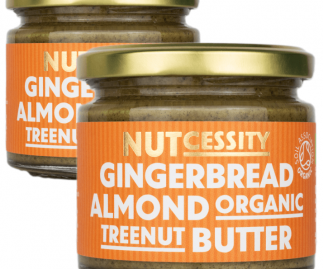 Organic Gingerbread Almond Nut Butter - 2 Pack