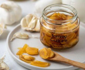 Raw Honey With Immunity Boosting Organic Garlic