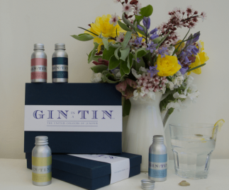 BOX SET OF FOUR GINS - SPRING