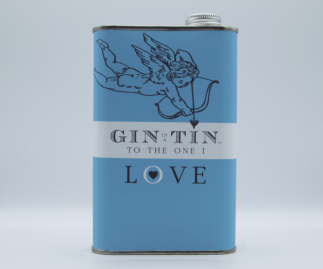 THE LOVE HEART BLUE TIN – FULL OF DELICIOUS GIN