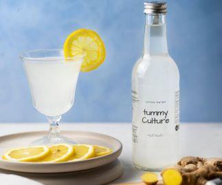 Water Kefir Organic Ginger & Lemon