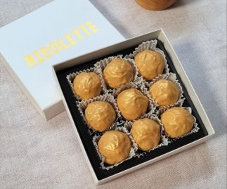 Golden Milk Chocolate Truffles