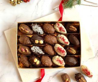 Chocolate Dates Sharing Gift Box