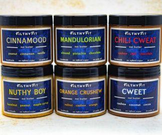 Six Sweet Nut Butter Bundle