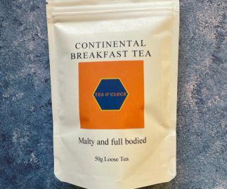 Tea o'clock - Continental breakfast tea - 50g Loose leaf
