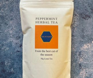 Tea o'clock - Peppermint herbal tea - 50g Loose leaf
