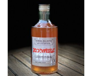 Zombie Pre-mixed Cocktail in a Bottle