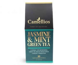 Jasmine & Mint Green Tea - 15 Biodegradable Tea Bags