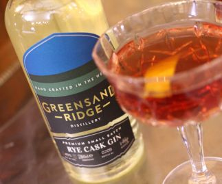 Greensand Ridge Distillery Rye Cask Gin