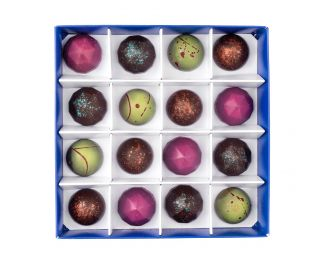 Vegan Box of 16 Chocolate Bonbons
