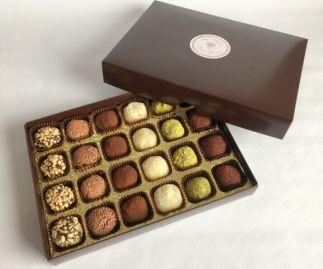 Vegan Brigadeiro Truffles l Gift Box of 24