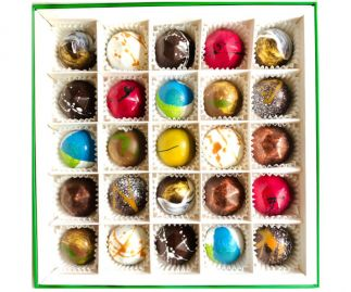 Classic Box of 25 Chocolate Bonbons