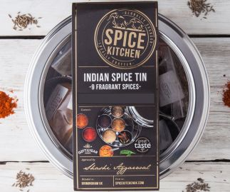 INDIAN SPICE TIN | 9 SPICES | GIFT OF THE YEAR WINNER