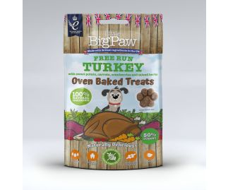 Free Run Oven Baked Turkey Treats for Dogs 9 x 130g
