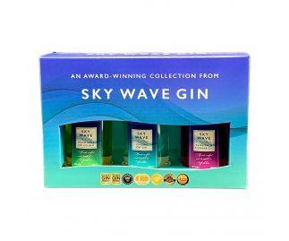 Sky Wave Gin Gift Box (3 x 50ml bottles)