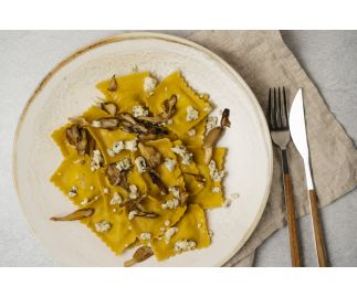 Wild Mushroom & Blue Cheese Ravioli (6 servings)