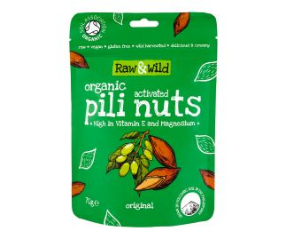 Organic Activated Original Pili Nuts - 70g