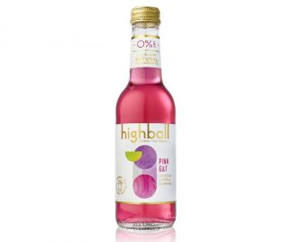 Highball Alcohol Free Cocktails - Pink G&T