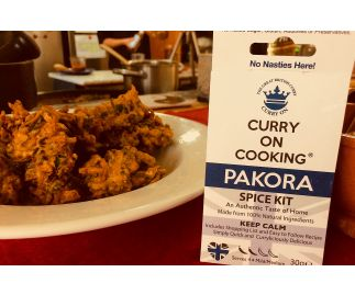 Curry On Cooking Pakora Spice Kit (mild/medium) Peckish? P..p..p…p Pick a Pakora!
