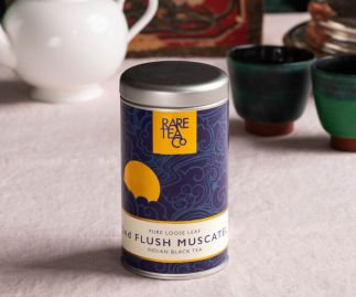 Sikkim Second Flush Muscatel Black Loose Leaf Tea 50g Tin
