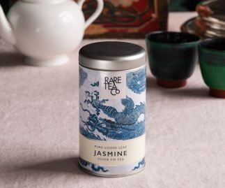 Silver Tip Jasmine White Loose Leaf Tea 25g Tin
