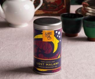 Lost Malawi English Breakfast Loose Leaf Black Tea 50g Tin