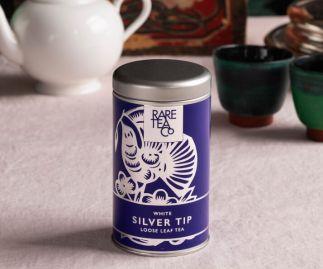 Silver Tip White Loose Leaf Tea 25g Tin