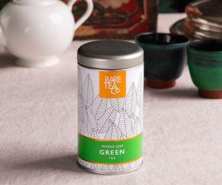 Chinese Whole Leaf Green Loose Leaf Tea 25g Tin
