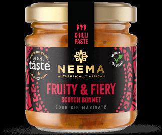 African Fruity & Fiery Scotch Bonnet Chilli Paste