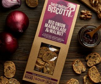 Red Onion Marmalade Biscotti