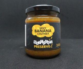 Spicy Banana Chutney