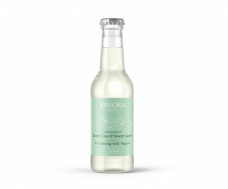 Savora Drinks Zesty Lime & Sweet Agave Mixer - 4 units