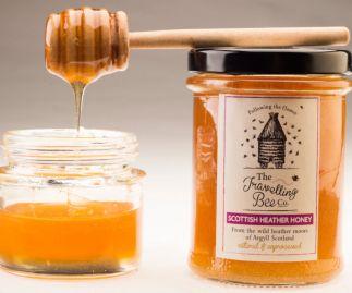 Scottish Heather Honey, Two Jars
