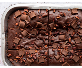 Fudge Brownies | Gluten Free, Dairy Free, Vegan & Refined Sugar Free