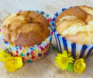 Lemon Curd Muffin Gluten Free