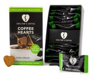 Shelton's Instant Coffee Hearts Irish Cream Flavour