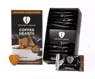 Shelton's Instant Coffee Hearts Mocha Flavour