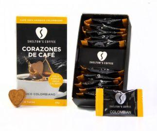 Shelton's Coffee Hearts Classic Colombian