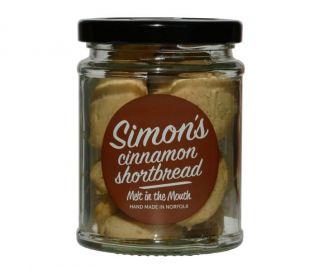 Simon's Cinnamon Shortbread 90g (All butter)