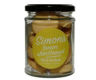 Simon's Lemon Shortbread 90g (All butter)