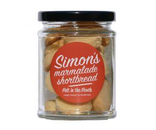 Simon's Marmalade Shortbread 90g (All butter)