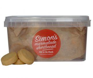 Simon's Marmalade Shortbread (All butter) 325g