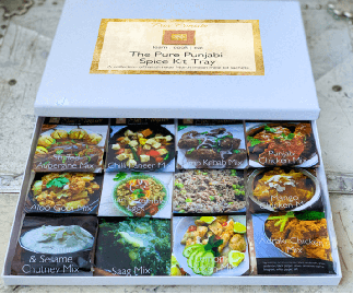 The Pure Punjabi Spice Kit Tray