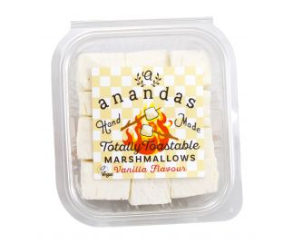 Ananda's Totally Toastable Marshmallows Re-Sealable Tub 135g