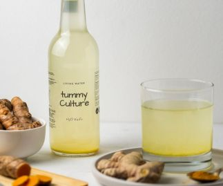 Water Kefir Organic Ginger & Turmeric