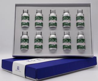 BOX SET OF TEN GINS - SHOWCASING A FESTIVE TURKEY ILLUSTRATION