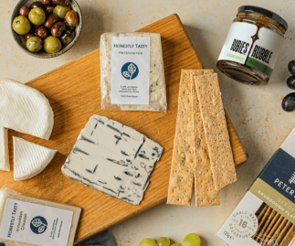 The Full Collection + Peter's Yard Seeded Sourdough Flatbreads + Rubies in the Rubble Classic Apple Relish | Vegan Cheese Alternatives