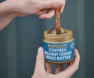 Organic Coffee & Walnut Nut Butter (Free Delivery)