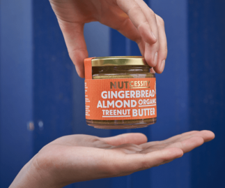 Organic Gingerbread Almond Butter (Free Delivery)